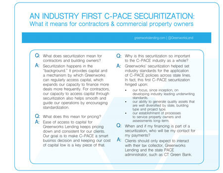 C-PACE securitization highlights
