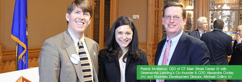 Greenworks Lending and CT Main Street Center Announce Partnership