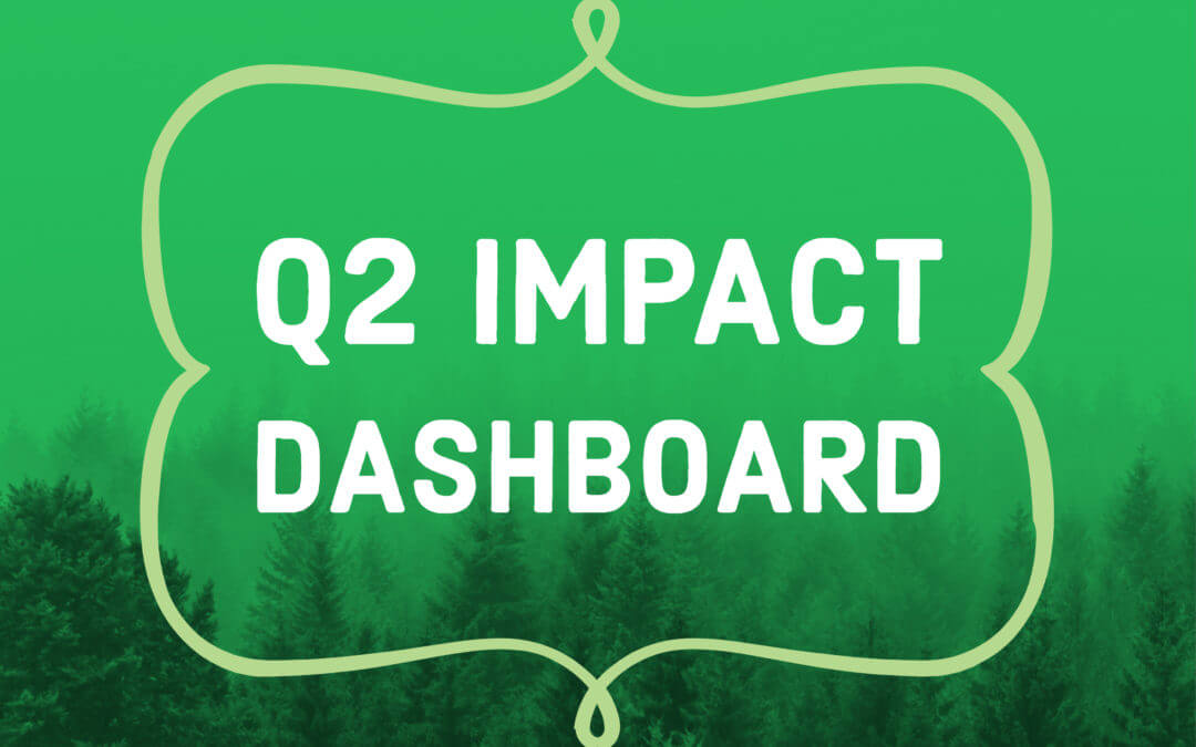 Greenworks Impact Dashboard Q2 2019