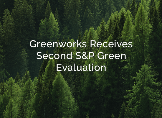 Greenworks Lending Receives Second S&P Green Evaluation for C-PACE Assets