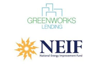 National Energy Improvement Fund (NEIF) and Greenworks Lending Partner for Joint Energy Lending Platform